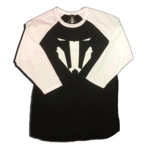 Badger Face Baseball Shirt